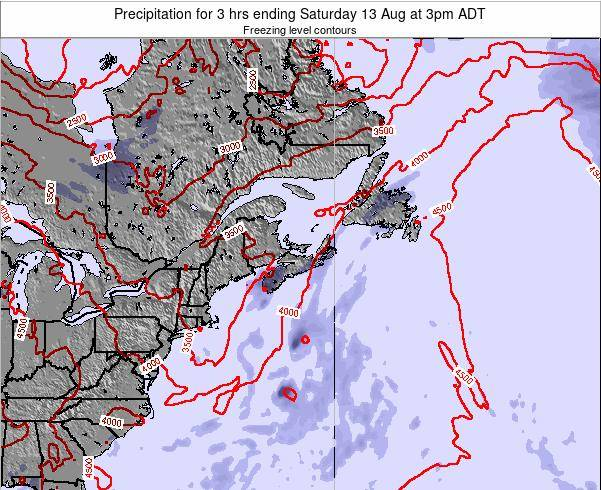 Nova-Scotia Precipitation for 3 hrs ending Wednesday 05 Apr at 3pm ADT