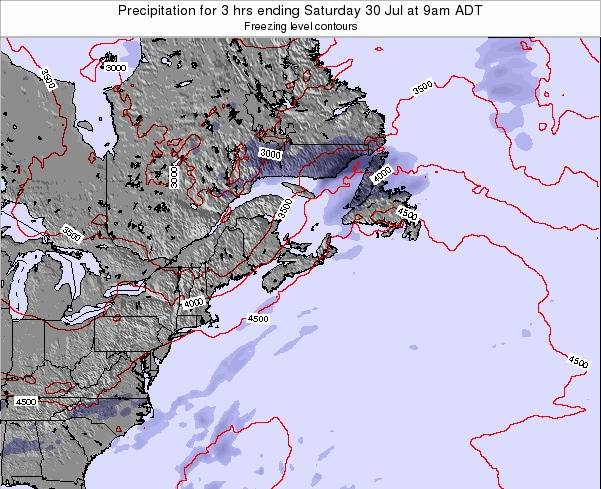 Nova-Scotia Precipitation for 3 hrs ending Wednesday 31 Aug at 9pm ADT