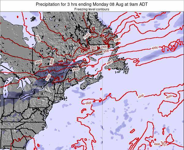 Nova-Scotia Precipitation for 3 hrs ending Monday 30 May at 9am ADT