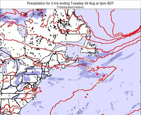 Nova-Scotia Precipitation for 3 hrs ending Friday 08 May at 3pm ADT