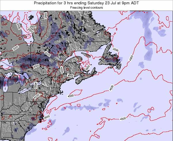 Nova-Scotia Precipitation for 3 hrs ending Friday 04 Dec at 8am AST