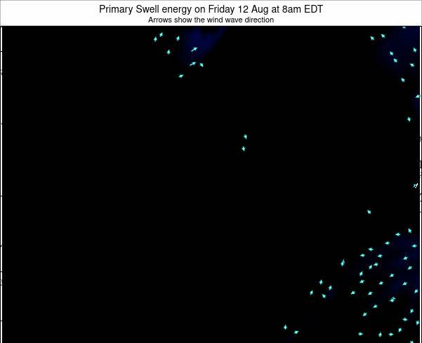 Ontario Primary Swell energy on Sunday 26 May at 8am EDT