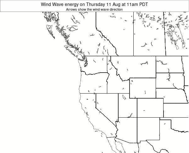 Oregon Wind Wave energy on Thursday 02 Jun at 5am PDT