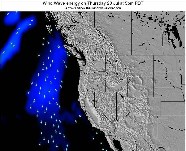 Oregon Wind Wave energy on Wednesday 23 Apr at 11pm PDT