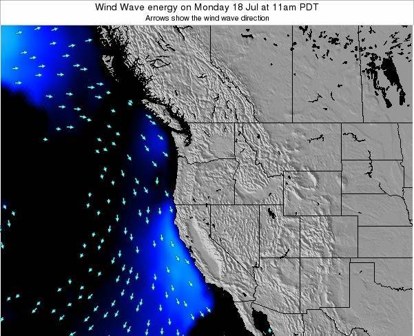 Oregon Wind Wave energy on Monday 28 Apr at 11am PDT