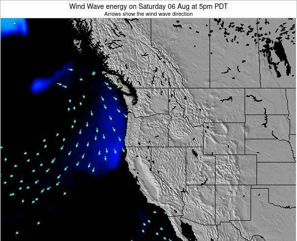 Oregon Wind Wave energy on Thursday 12 Dec at 4pm PST