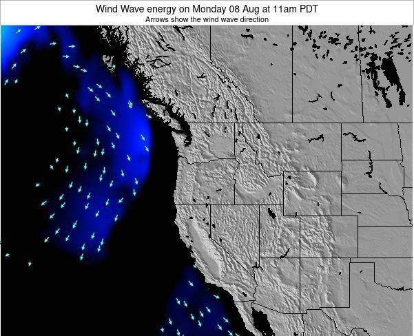 Oregon Wind Wave energy on Monday 24 Jun at 11pm PDT