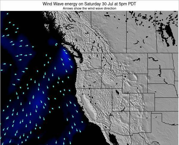 Oregon Wind Wave energy on Monday 10 Mar at 11am PDT