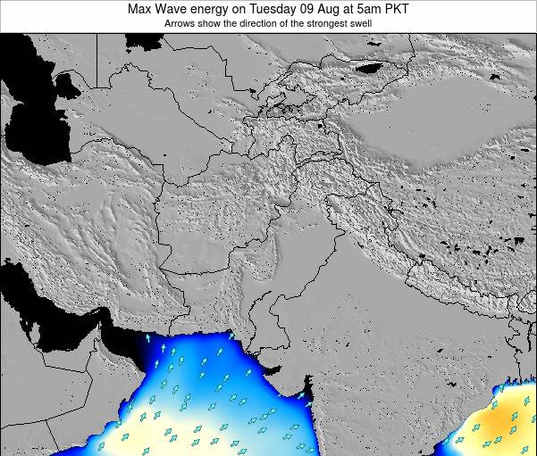 Pakistan Max Wave energy on Tuesday 25 Jun at 11am PKT