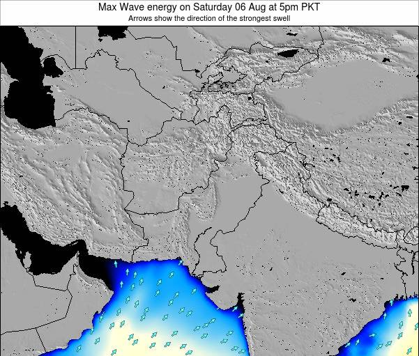 Pakistan Max Wave energy on Friday 31 May at 11am PKT
