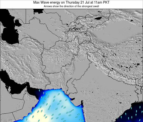 Pakistan Max Wave energy on Monday 27 May at 11am PKT