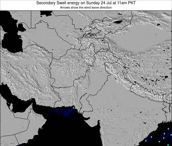 Pakistan Secondary Swell energy on Saturday 20 Sep at 11pm PKT