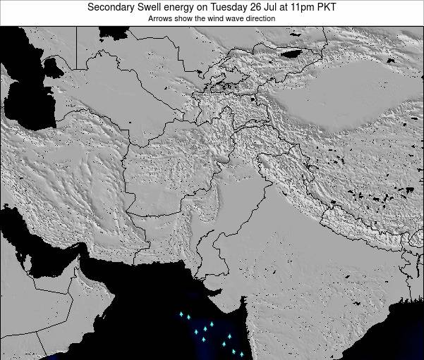 Pakistan Secondary Swell energy on Wednesday 27 May at 5am PKT