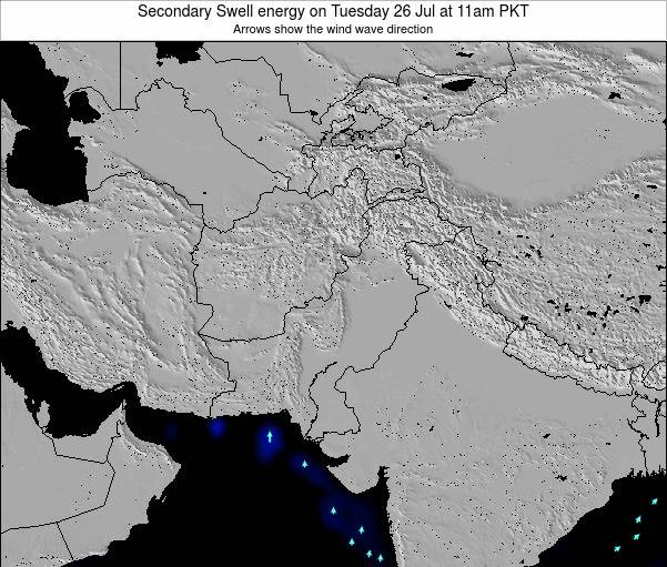 Pakistan Secondary Swell energy on Thursday 30 Apr at 11pm PKT