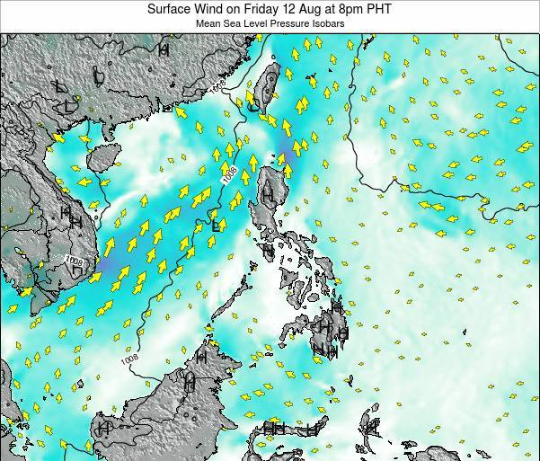 Paracel Islands Surface Wind on Friday 31 May at 8am PHT map