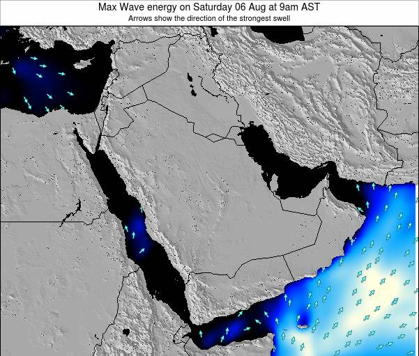 Kuwait Max Wave energy on Wednesday 02 Dec at 9am AST