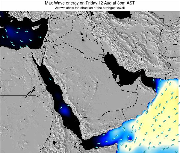 Kuwait Max Wave energy on Wednesday 29 May at 3pm AST