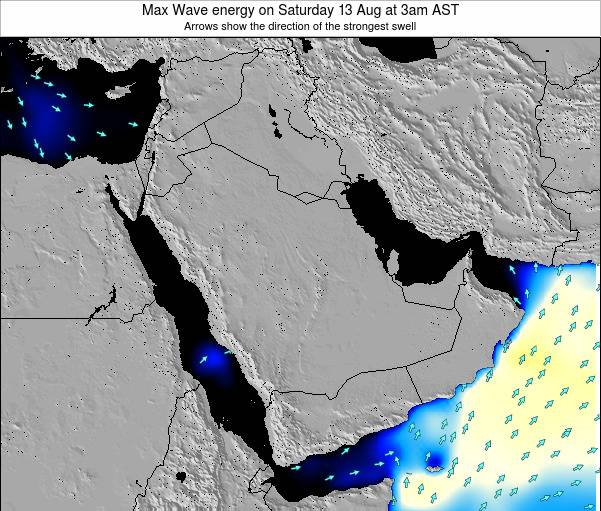 Kuwait Max Wave energy on Monday 05 Sep at 9pm AST