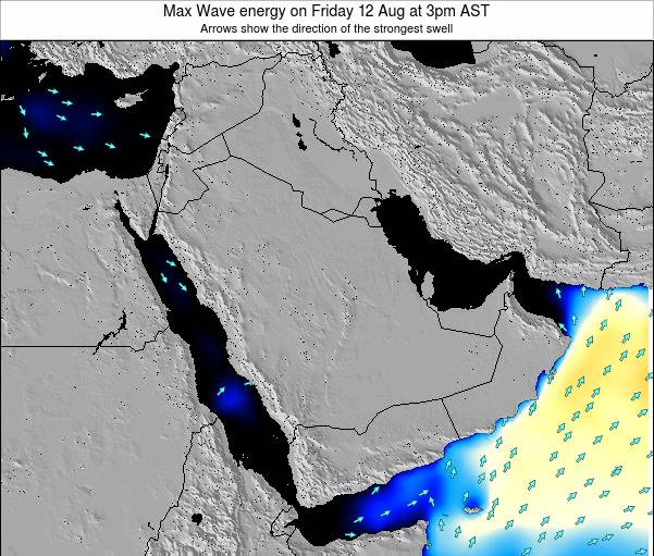 Kuwait Max Wave energy on Thursday 19 Dec at 3am AST