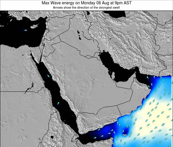 Kuwait Max Wave energy on Thursday 24 Apr at 9am AST