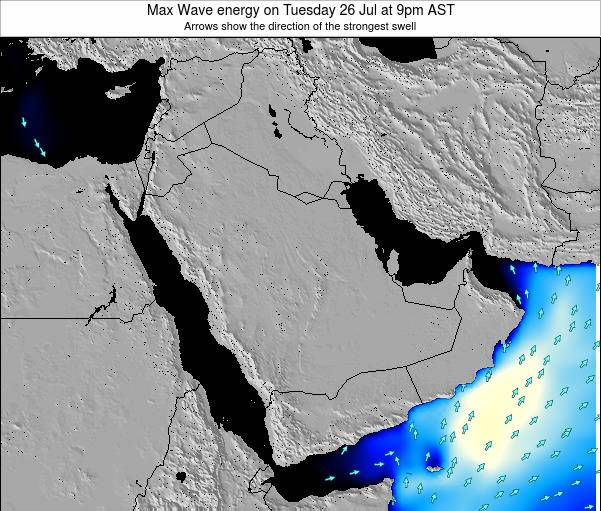 Kuwait Max Wave energy on Sunday 26 May at 3pm AST