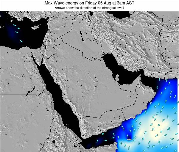 Oman Max Wave energy on Monday 20 May at 9am AST
