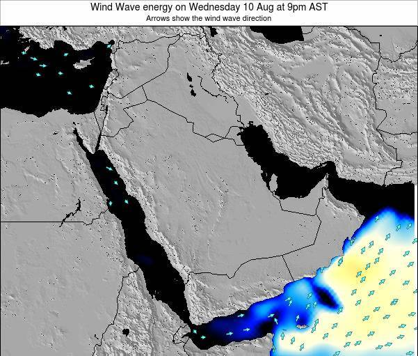 Oman Wind Wave energy on Tuesday 28 May at 3pm AST