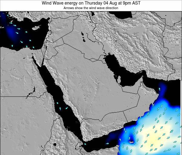 Oman Wind Wave energy on Tuesday 24 Dec at 9am AST