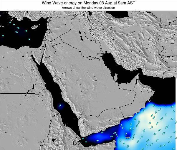 Oman Wind Wave energy on Wednesday 22 May at 9pm AST