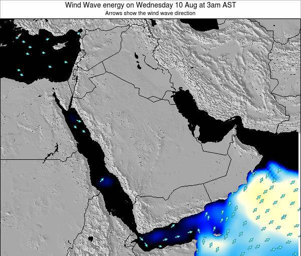 Oman Wind Wave energy on Wednesday 30 Jul at 3pm AST
