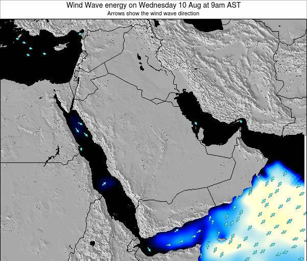 Oman Wind Wave energy on Wednesday 11 May at 9am AST