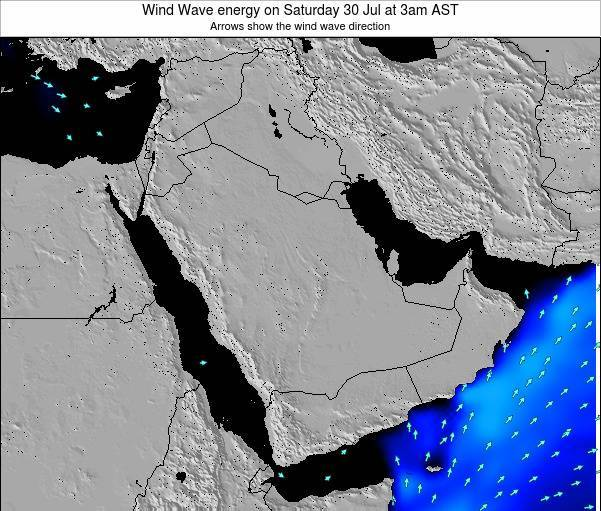 Oman Wind Wave energy on Tuesday 10 Dec at 3pm AST