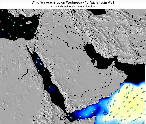 Oman Wind Wave energy on Saturday 26 Apr at 9am AST