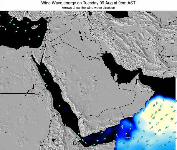 Oman Wind Wave energy on Wednesday 01 Apr at 3pm AST