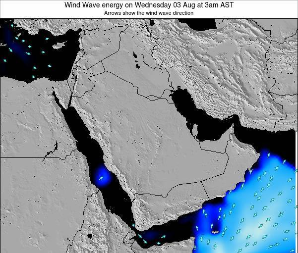 Oman Wind Wave energy on Monday 27 May at 9pm AST