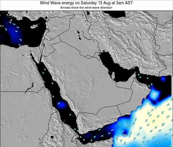 Oman Wind Wave energy on Thursday 12 Dec at 3am AST