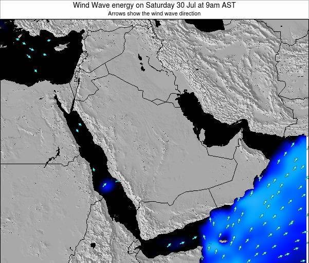 Oman Wind Wave energy on Saturday 30 May at 9pm AST