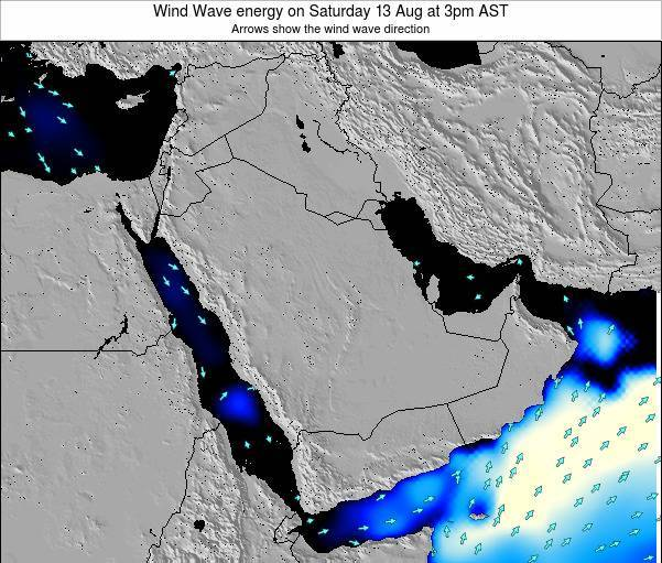 Oman Wind Wave energy on Friday 31 May at 3am AST