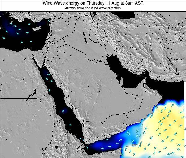 Oman Wind Wave energy on Tuesday 10 May at 3pm AST