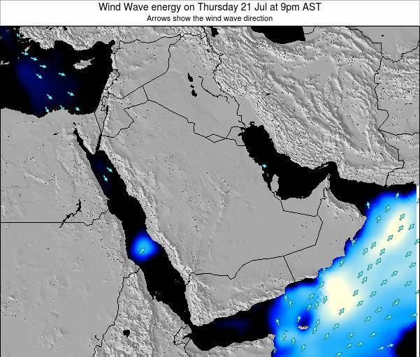 Oman Wind Wave energy on Saturday 07 Mar at 9pm AST