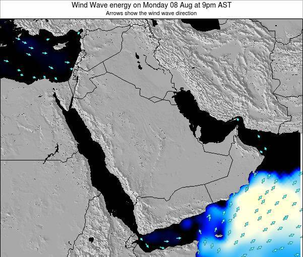 Oman Wind Wave energy on Tuesday 29 Apr at 9am AST