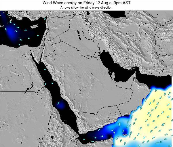 Oman Wind Wave energy on Friday 19 Feb at 9pm AST