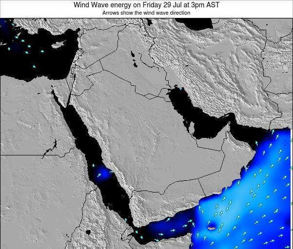 Oman Wind Wave energy on Wednesday 30 Jul at 9am AST