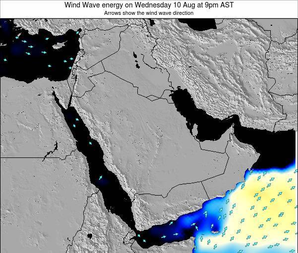 Oman Wind Wave energy on Tuesday 05 Aug at 9pm AST