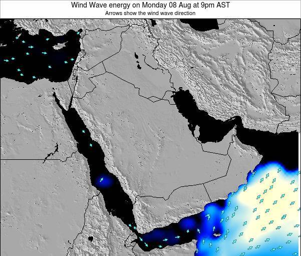Oman Wind Wave energy on Tuesday 25 Jun at 3am AST