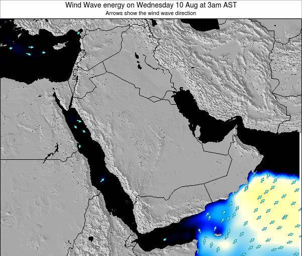 Oman Wind Wave energy on Thursday 30 May at 3am AST
