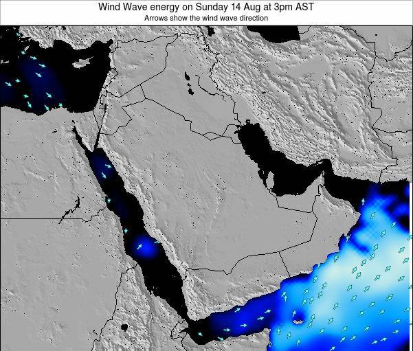 Oman Wind Wave energy on Thursday 27 Jun at 3am AST