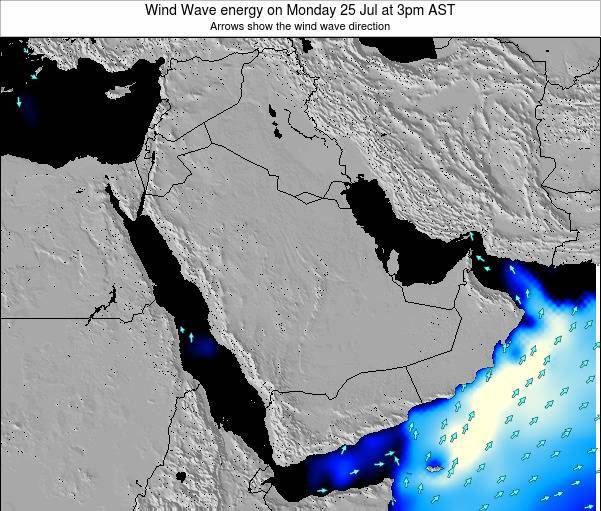 Oman Wind Wave energy on Tuesday 28 May at 9am AST