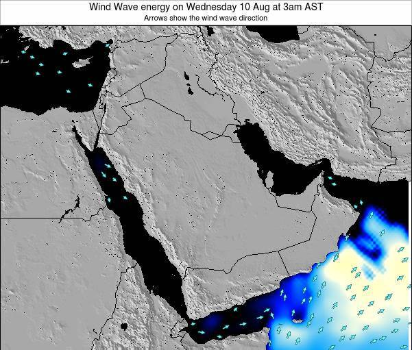 Oman Wind Wave energy on Tuesday 21 May at 9pm AST
