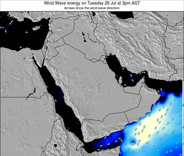 Oman Wind Wave energy on Saturday 25 May at 9am AST